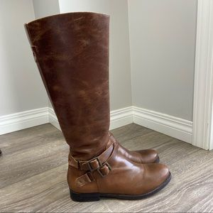 Matisse Britain Brown Tall Riding Boots